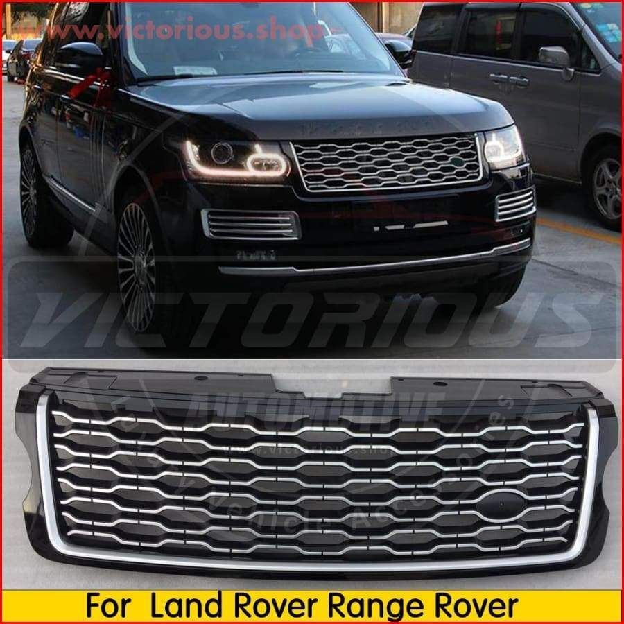 Range Rover 2018 Style Grille For Range Rover Vogue 2013 2017 Range Rover Accessories Range Rover 2018 Range Rover