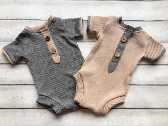 Photo of Cod 134Newborn Romper, beige, baby boy, , bodysuit, jumper, clothing, accessories, photography prop, photo prop, baby boy