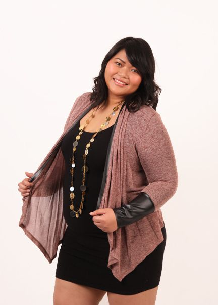 Aunty Entity Cardigan- burgundy - Re/Dress Online