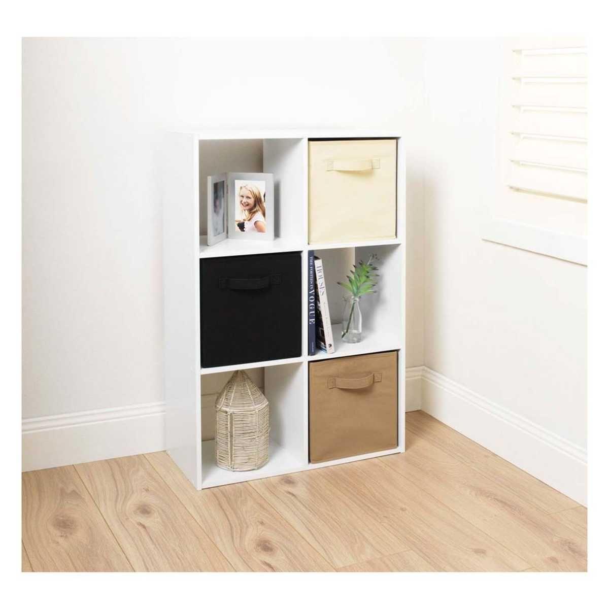 ClosetMaid 6 Cube Storage Organiser   White | BIG W