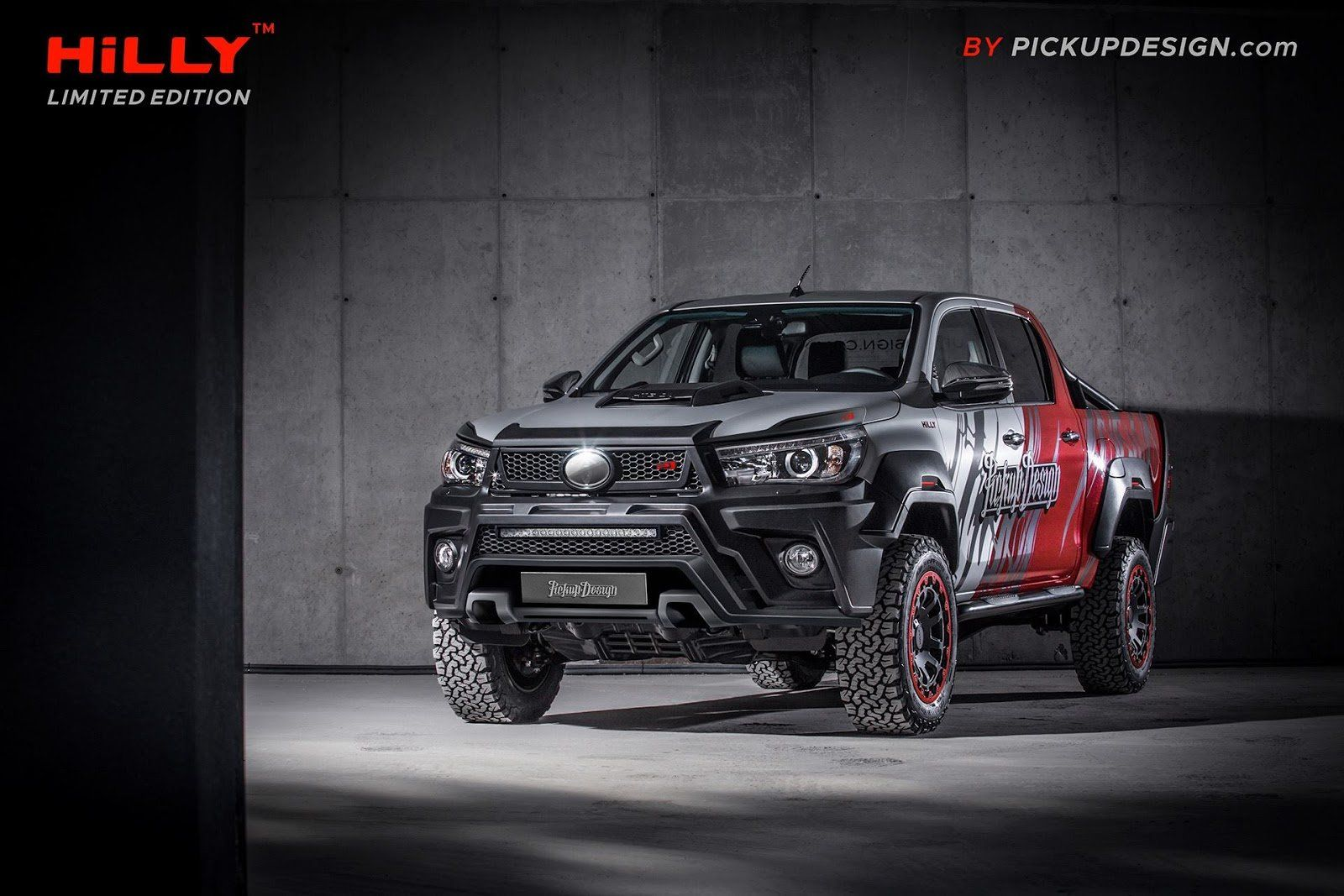 Hilly Toyota Hilux By Carlex Design Project Pickup Design Toyota Hilux Toyota Design