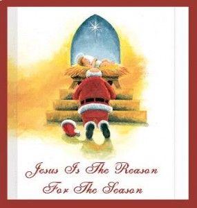 why jesus is infinitely better than santa claus baby jesus santa and north pole - Santa With Jesus