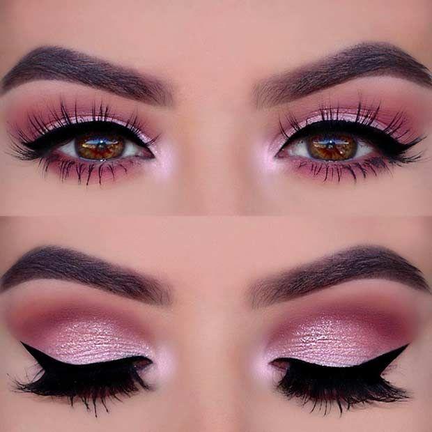 Photo of Pink Smokey Eye Look for Prom – Schönheit