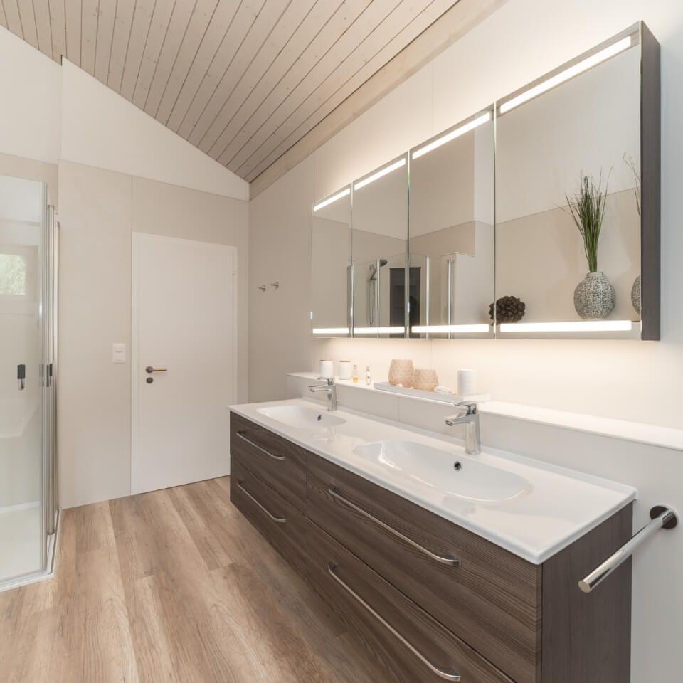 Viterma Badrenovierung Nachher Situation Badezimmer Planen