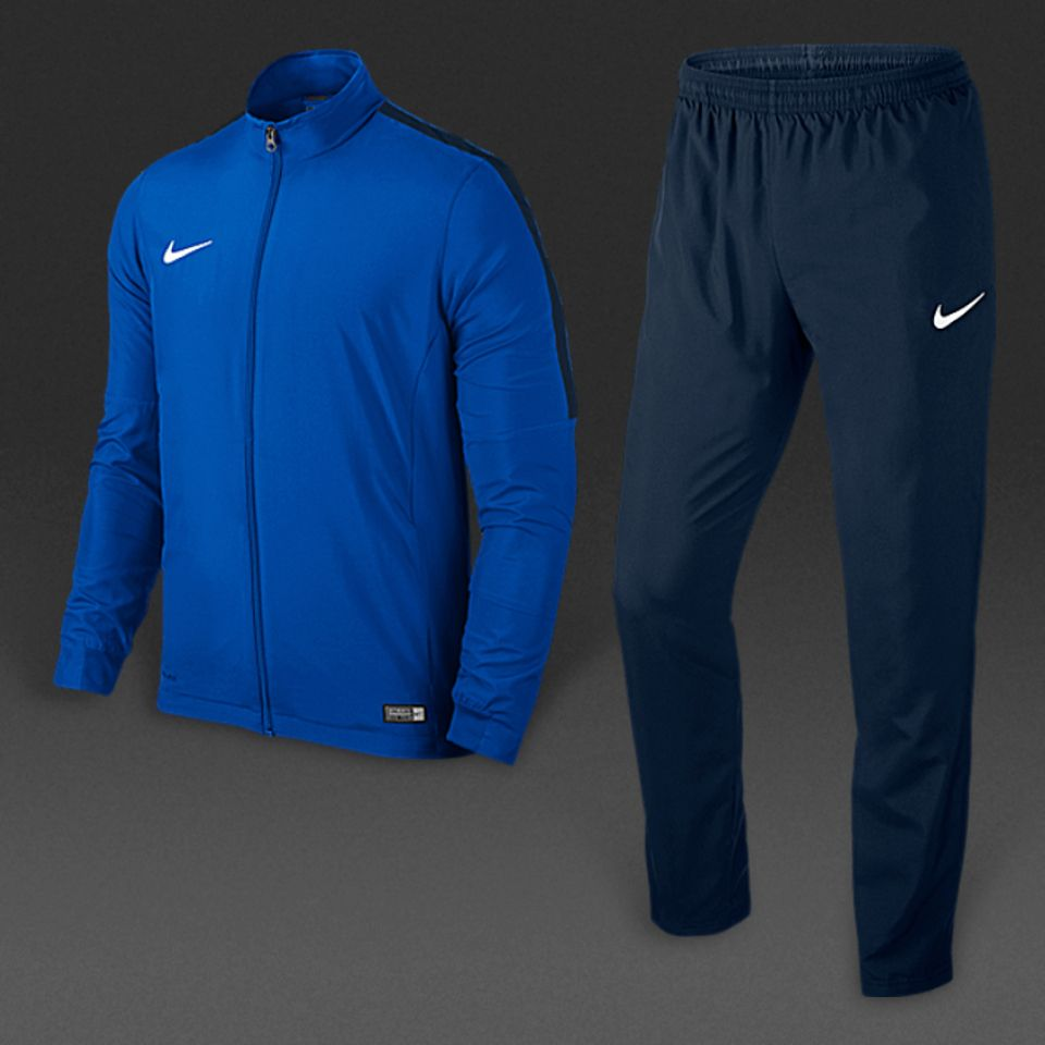 56f356afd169b Nike Academy 16 Woven Tracksuit 2 - Royal Blue/Obsidian/Obsidian ...