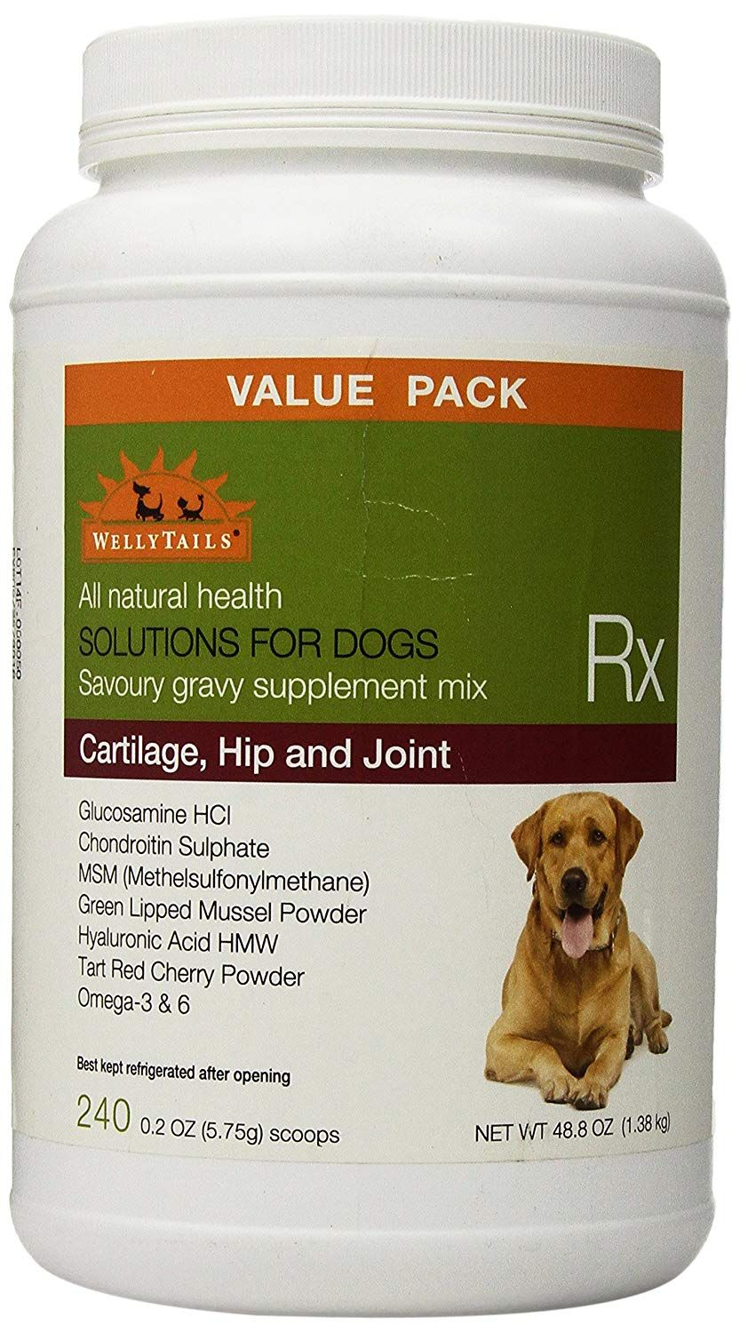 WellyTails Dog Supplement for Cartilage, Hip and Joint