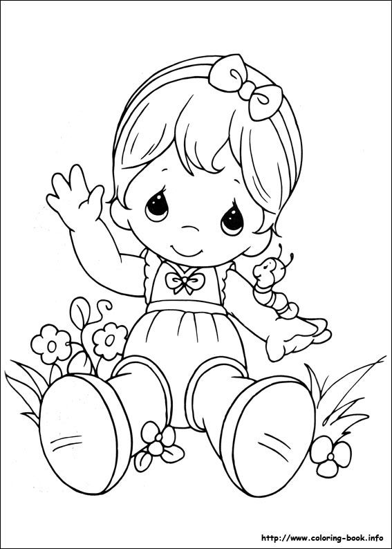 Baby Precious Moments Coloring Pages Cartoonrocks Com Precious Moments Coloring Pages Coloring Books Coloring Pages