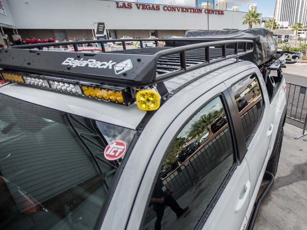 Sema 2016 tacoma with bajarack roof rack and led light bar tacoma sema 2016 tacoma with bajarack roof rack and led light bar mozeypictures Images