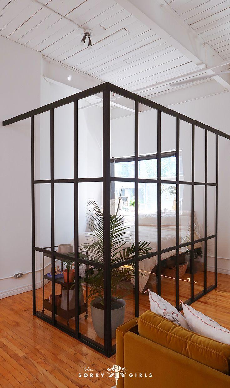 Glass Room Divider, Diy Room