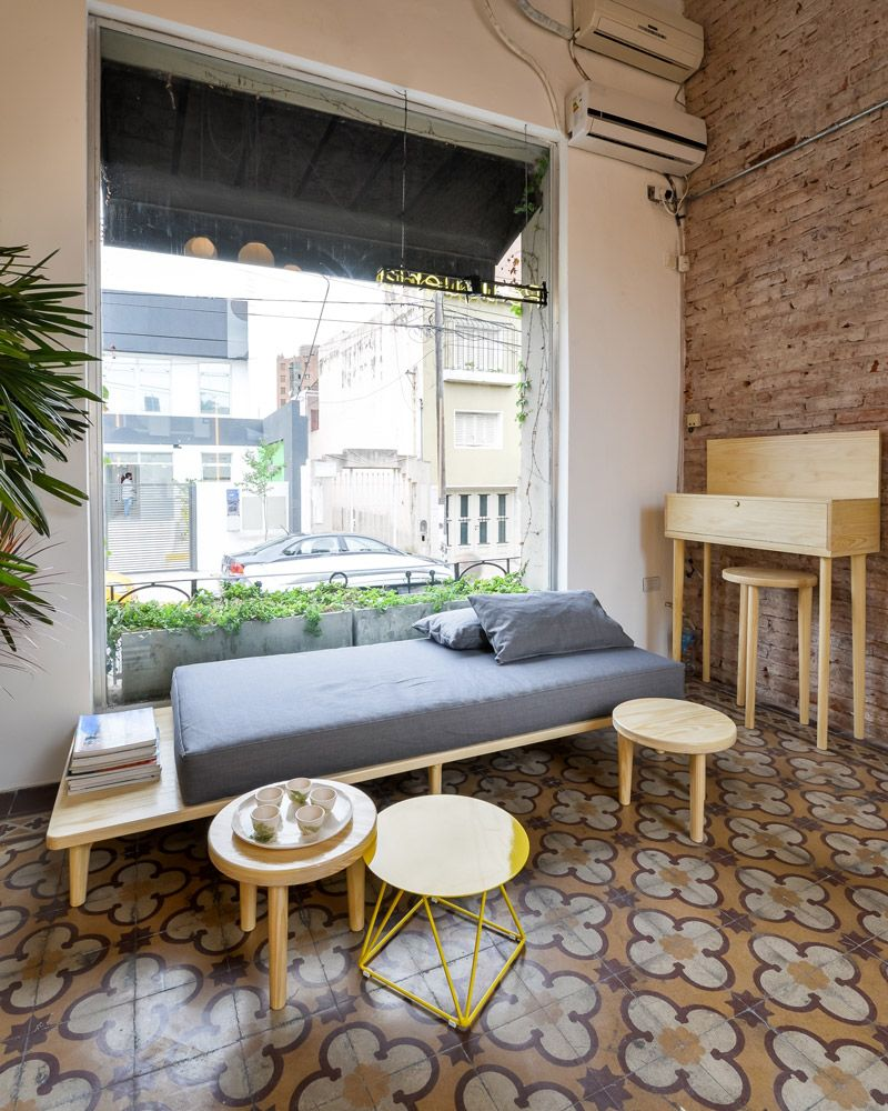tradition meets modernity inside this chic argentine barbershop rh pinterest com
