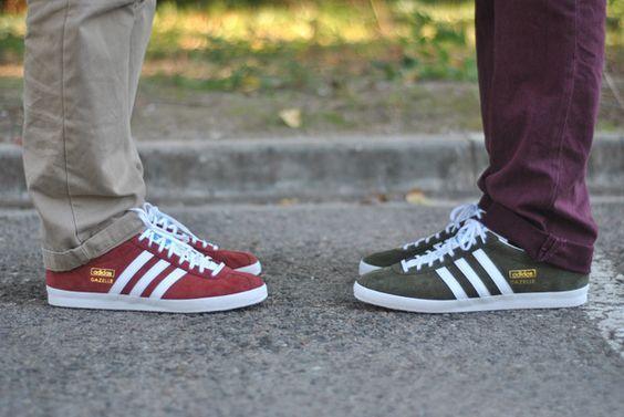Adidas Gazelle come calzano ? come indossare le sneakers tra le ...