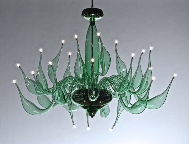 Design Lampen Lu Murano Kunst Und Tradition Murano Chandelier Glass Design Glass Chandelier