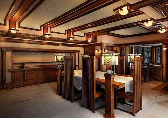 frederick c robie house chicago illinois 1910 prairie style rh pinterest com