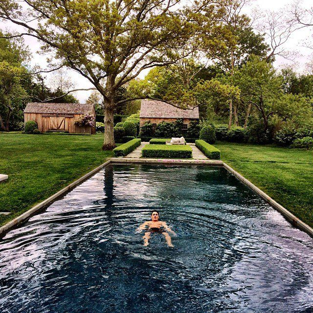 Pin for Later: Snap-Happy Stars Celebrate Memorial Day Weekend  Colton Haynes had a float in the pool. Source: Instagram user coltonlhaynes
