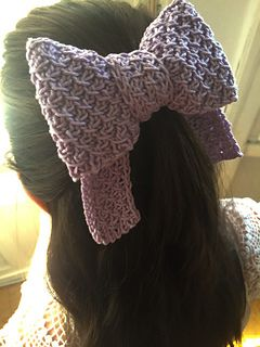 Big hair bow