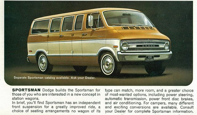 1972 Dodge Sportsman Van | Van conversion | Dodge ram van