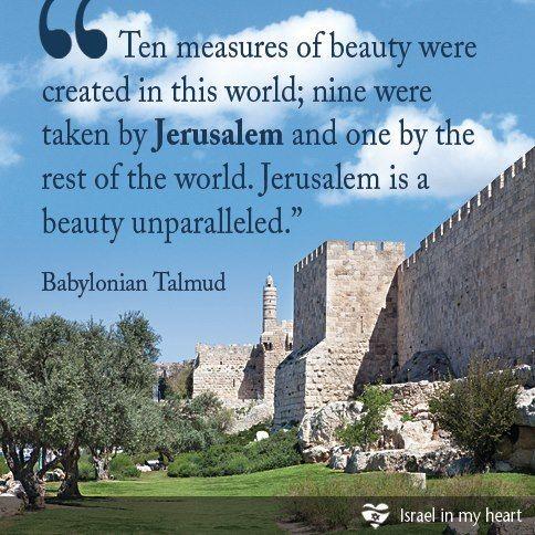 beauty of Jerusalem!