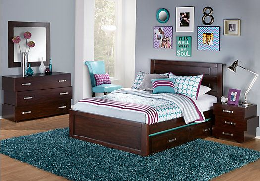 quake cherry 5 pc full panel bedroom in 2019 things for the rh pinterest com