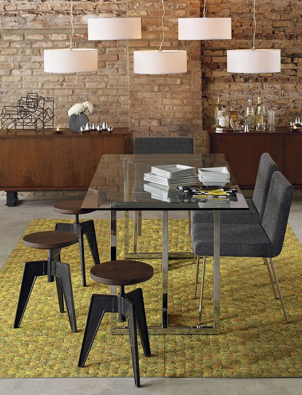 Rectangular Glass Modern Dining Table.png