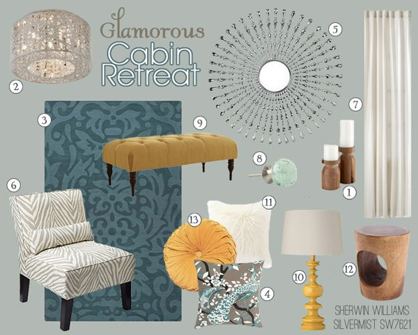 Mood Board Gallery For The Home Pinterest Accent Pieces Cabin And Living Rooms