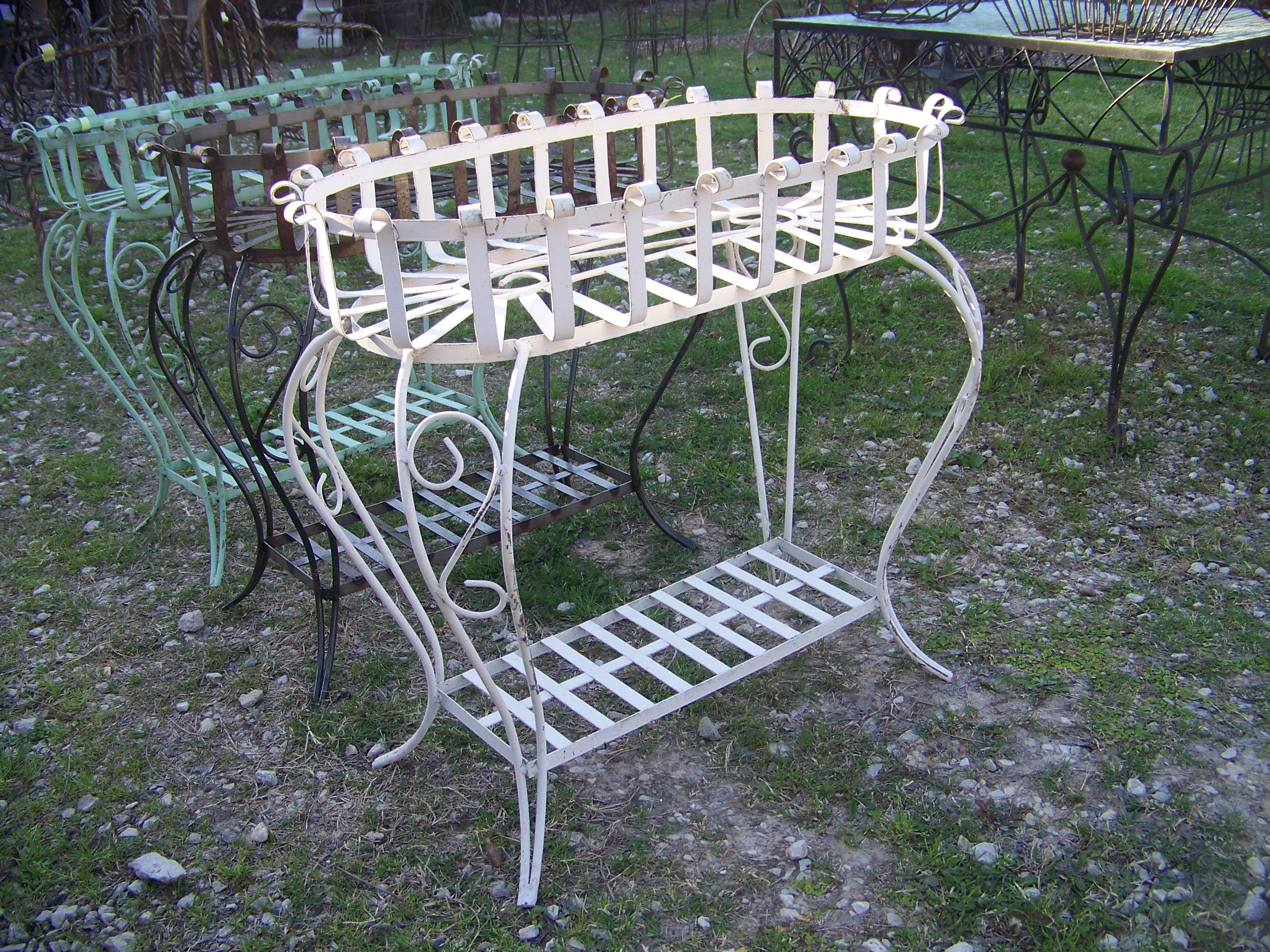 Phenomenal Mexican Metal Planter Basket From Barrio Antiguo In Houston Ibusinesslaw Wood Chair Design Ideas Ibusinesslaworg