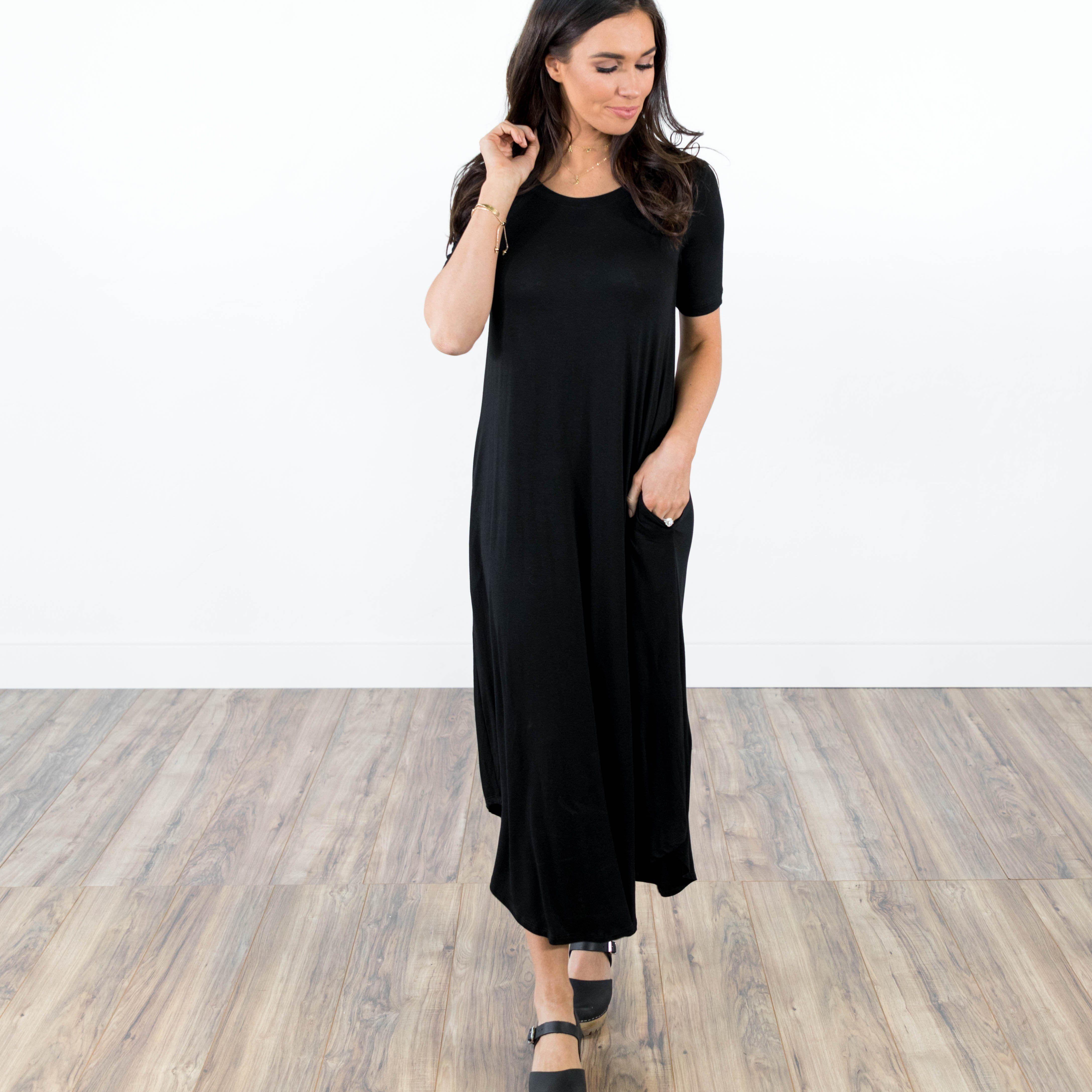 Hailey maxi dress black maxi dresses models and black