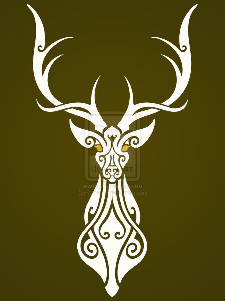 stag tattoo ver iii by anakarniolska on deviantart tattoo pinterest stag tattoo tattoo. Black Bedroom Furniture Sets. Home Design Ideas