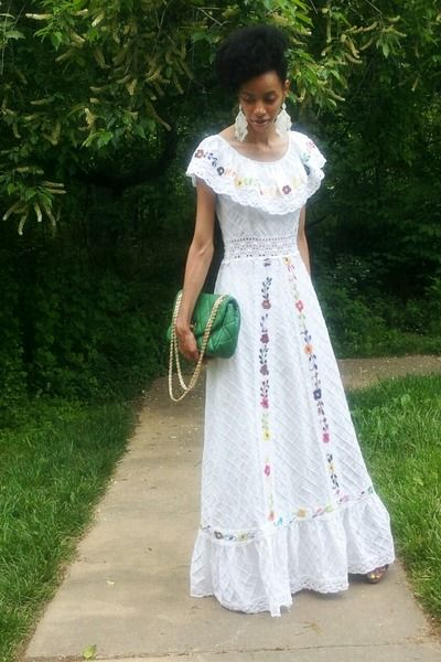 Vintage Mexican Dress With Images