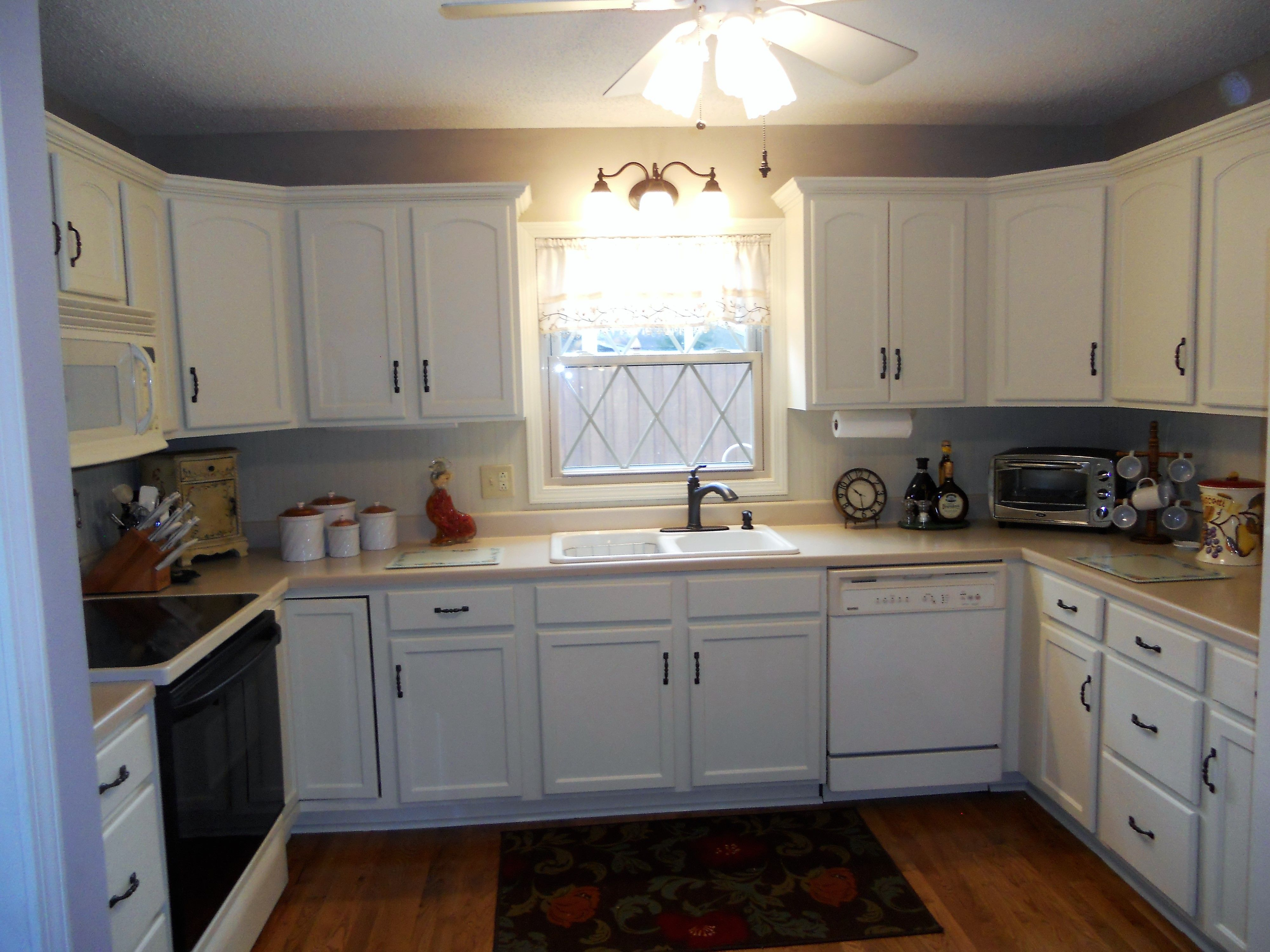 Fascinasting Kitchen Cabinets 2016 Antique White Painted ...