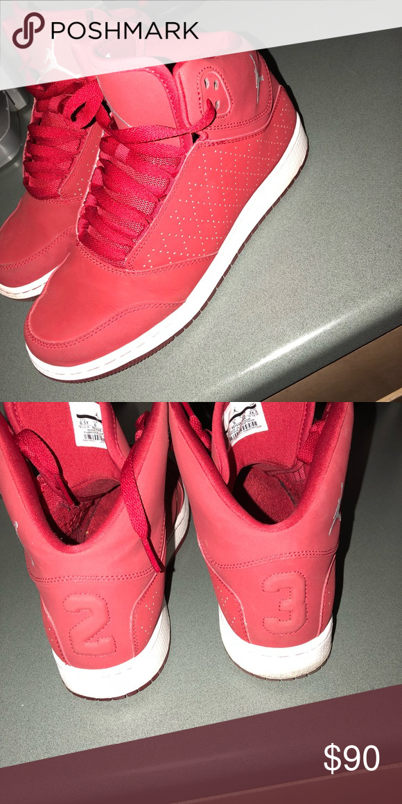 check out 530e8 1b730 High top red Jordan's, worn once Perfect Jordan's Jordan ...