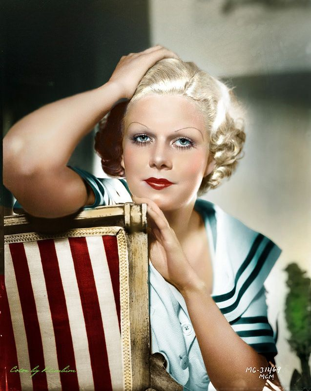 Jean Harlow (3/3/1911 - 7/6/1936) Age: 26