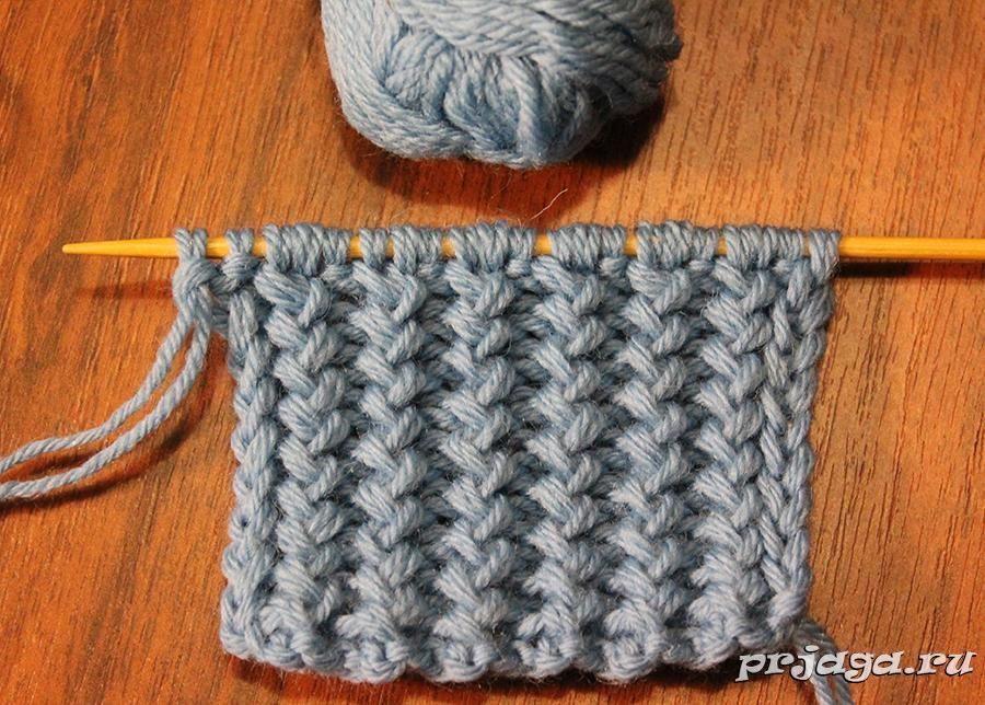 французская резинка спицами видео вязание вязание вязание