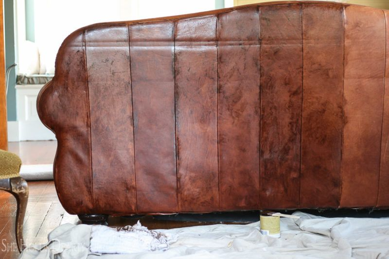 how to paint leather furniture home inspiration leather rh pinterest co uk