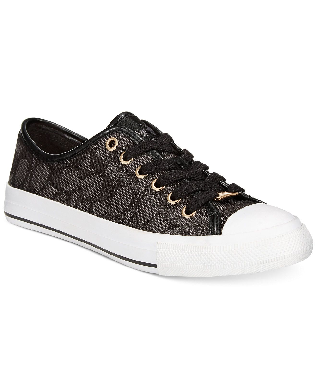 b1a91d05bc5c COACH Empire Low Top Logo Sneakers - COACH - Shoes - Macy s