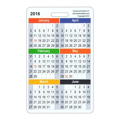 2020 Month By Month Calendar Vertical Badge Card Calendar Cards