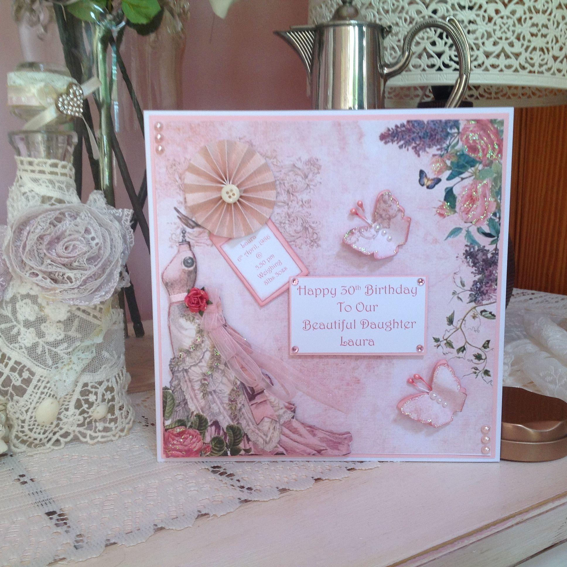 Birthday card handmade cards u box frames by edel shannon pinterest