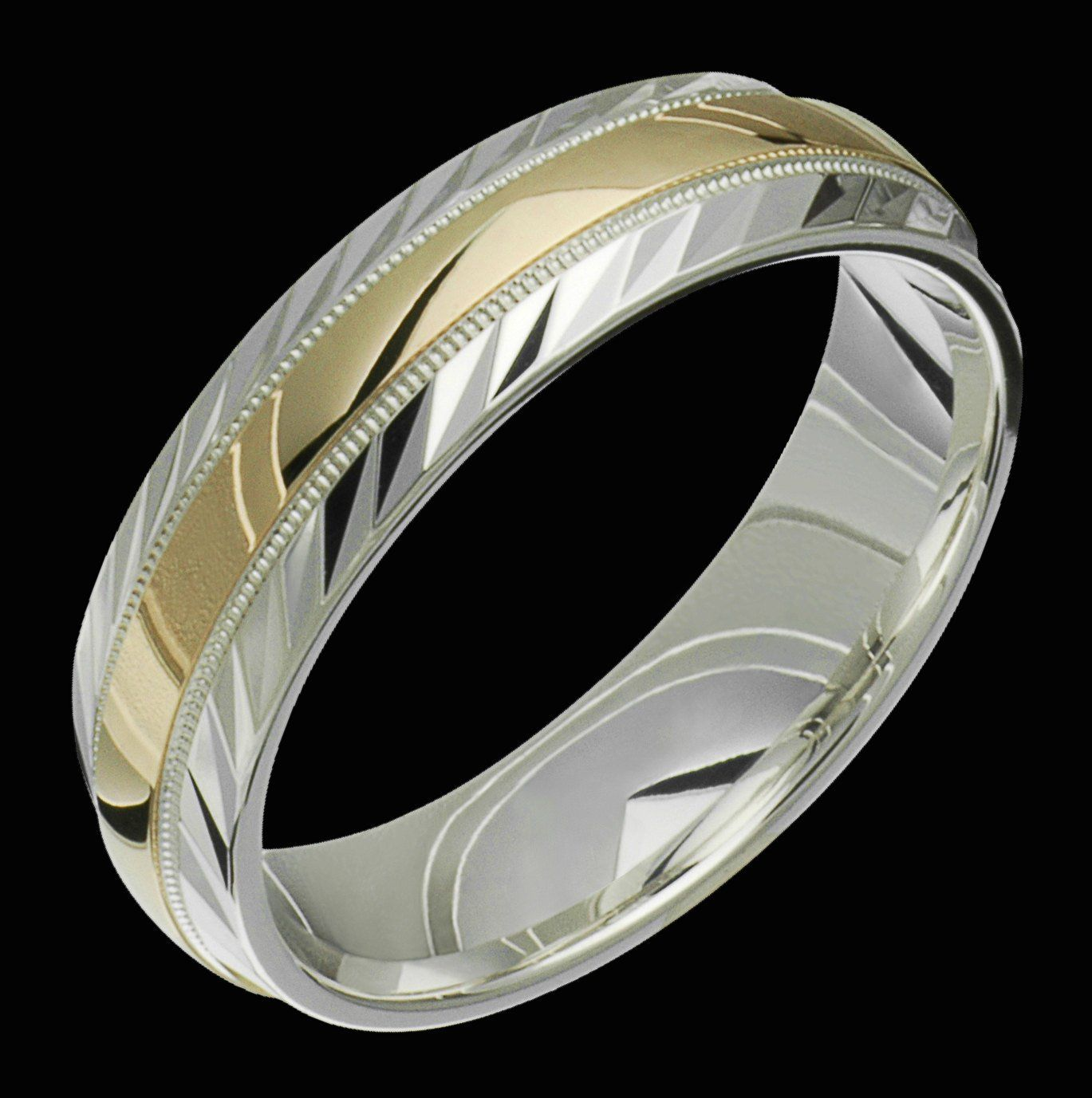 Silver and Gold TwoTone .925 Sterling Silver & 10K Yellow