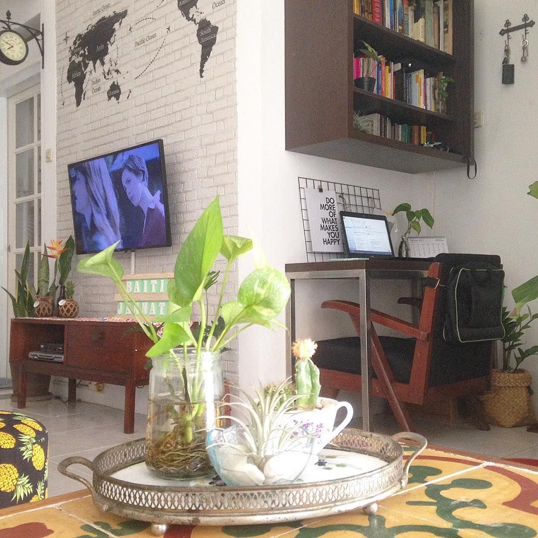 Desain Rumah Vintage Luas 60 M Yang Kekinian Bikin Nyaman Idn Times Ide Dekorasi Rumah Rumah Desain