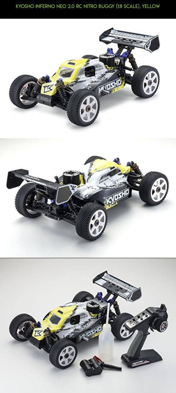 kyosho inferno neo 2 0 rc nitro buggy 1 8 scale yellow racing rh pinterest com