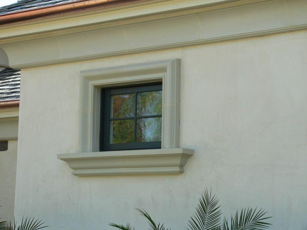 Componentes arquitect nicos toscana hacienda ventanas - Molduras para ventanas exteriores ...