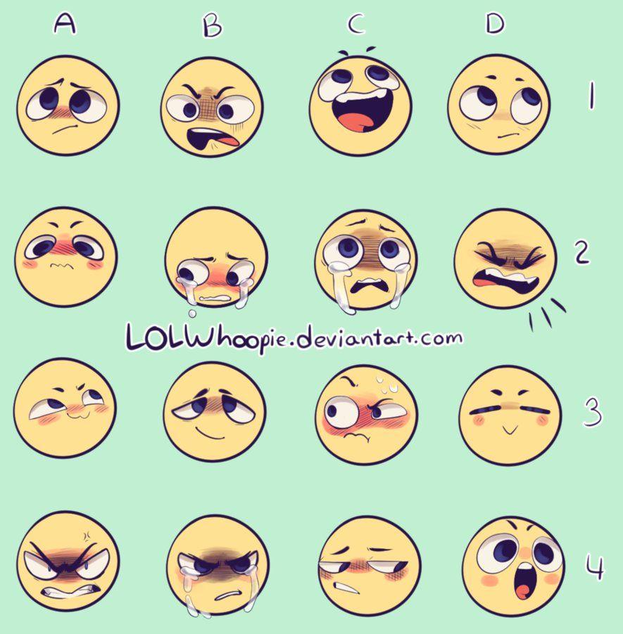 Expression Meme By Lolwhoopie Deviantart Com On Deviantart Drawing Expressions Drawing Face Expressions Drawing Meme