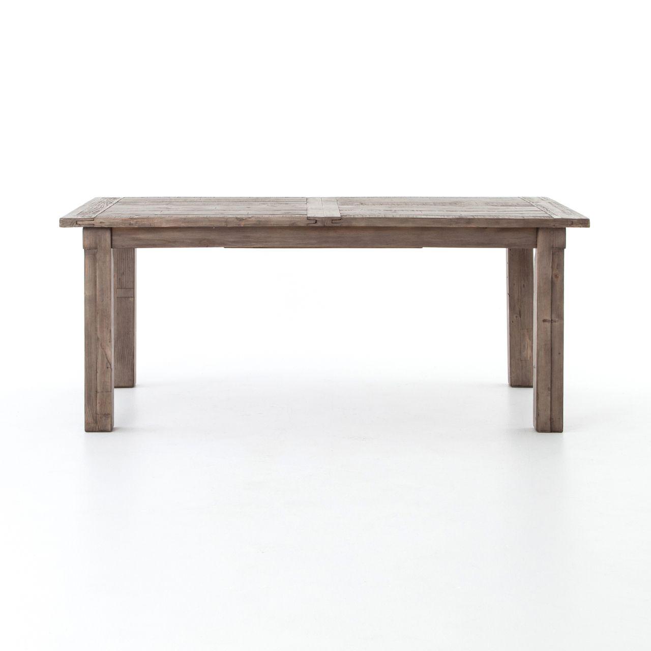 cintra grey reclaimed wood extending dining table 72 96 in 2019 rh pinterest com