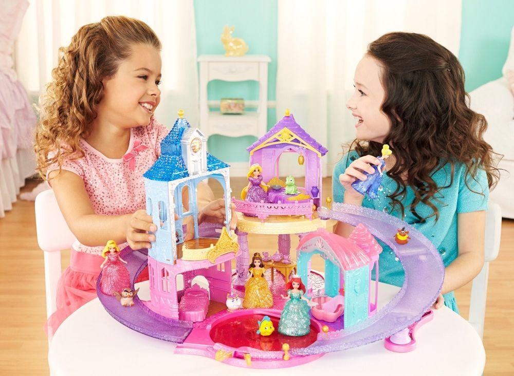 Disney Princess + FROZEN ELSA & ANNA Glitter Glider MagiClip