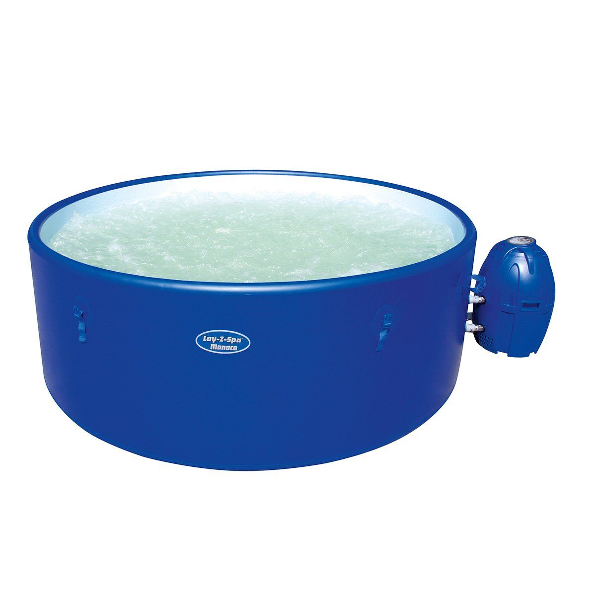 Lay Z Spa Monaco Inflatable Hot Tub 6 8 Persons Bw54113 Amazon