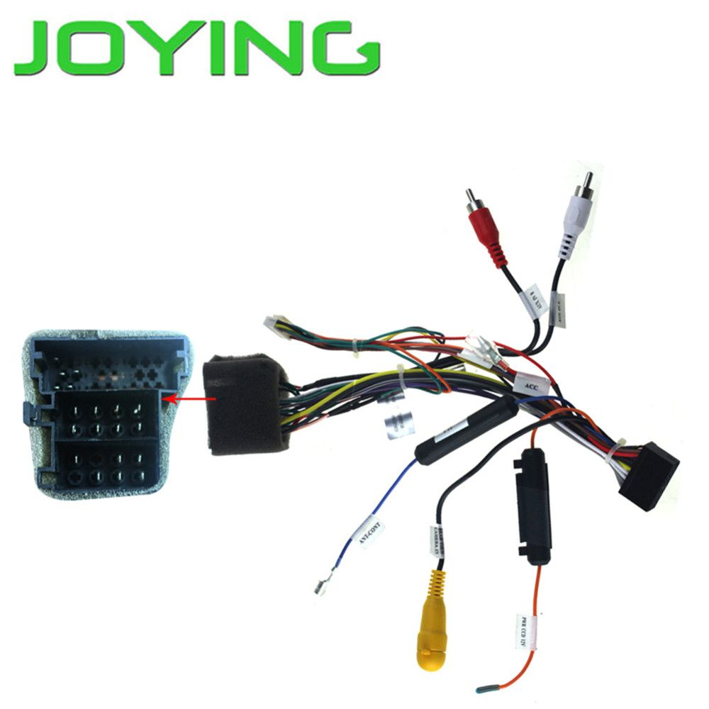 Joying Wiring Harness For Vw Only Android Device Car Universal Connector Plugs