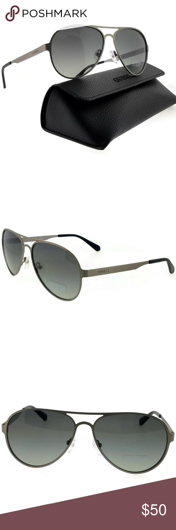 7c22915bf2 GU6897-09R-57 Guess Polarized Sunglasses New gorgeous authentic Guess GU6897 -09R-