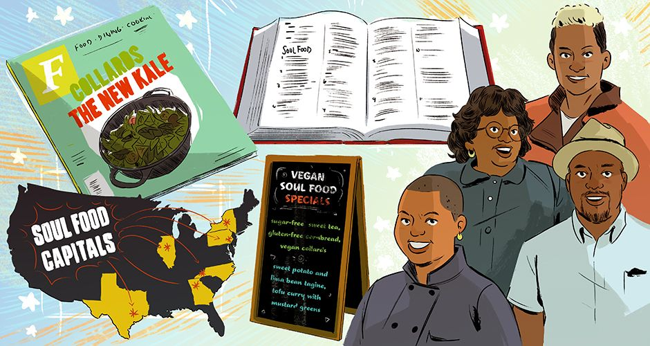 #SoulFood#AfricanAmericanCuisine    The State of Soul Food in America: Exploring the Past, Present, and Future What does soul food mean in 2016? A roundtable of experts discusses the emerging movements and obstacles the cuisine faces.