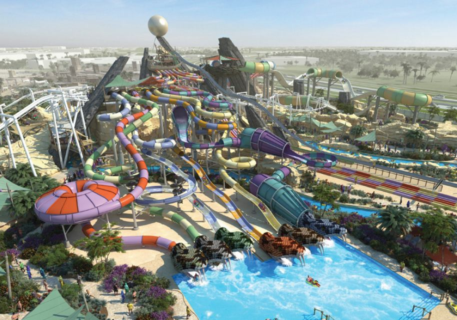 Yas Waterworld Abu Dhabi Water Park Abu Dhabi Places To Travel