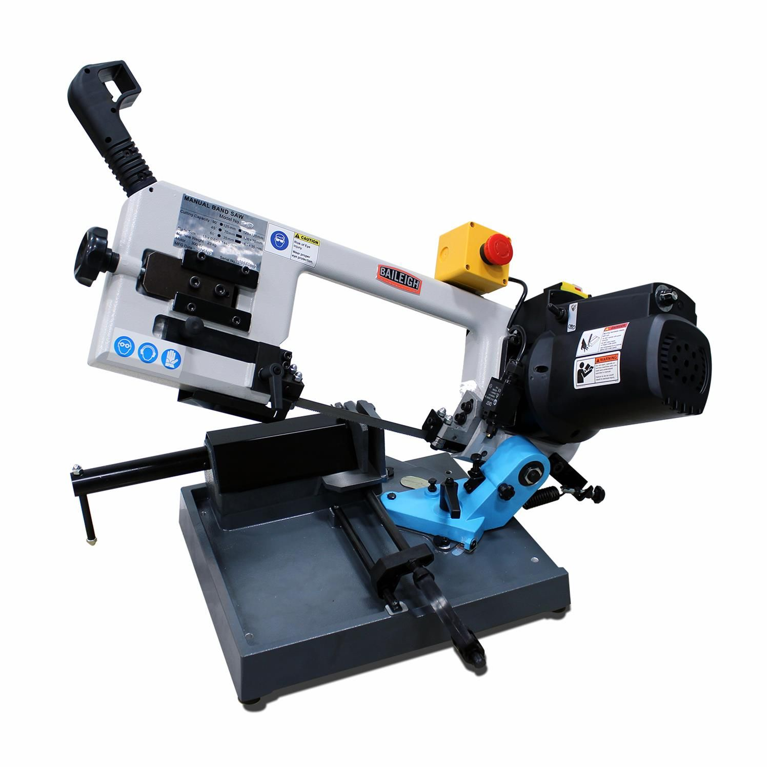 Find Baileigh Industrial Bs 127p Portable Band Saws Bs 127p Portable Band Saw Bandsaw Metal Band Saw