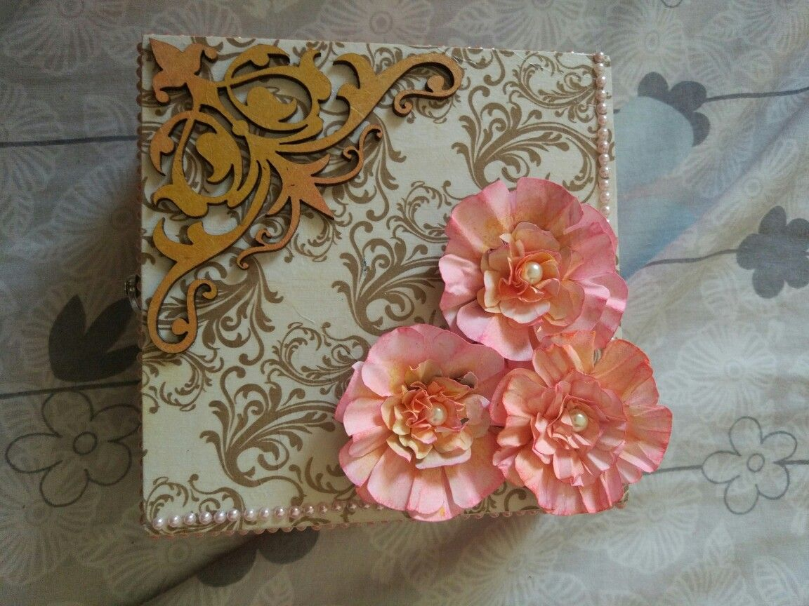 Decoupage and punch craft!
